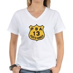 Perth Amboy PBA Women's V-Neck T-Shirt