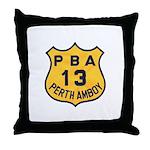 Perth Amboy PBA Throw Pillow