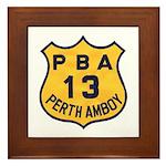 Perth Amboy PBA Framed Tile