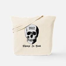 2012 Skull Tote Bag