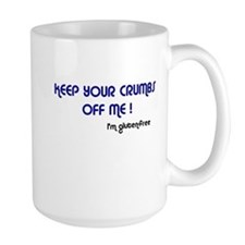 KEEP YOUR CRUMBS OFF ME! Right Hand Mug
