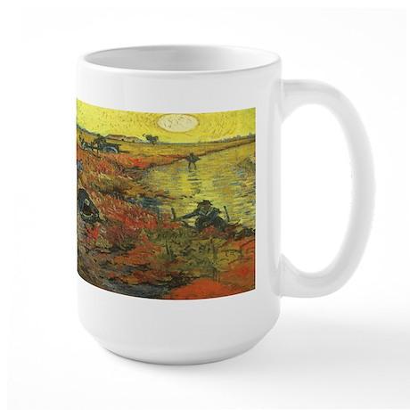 Van Gogh The Red Vineyard Large Mug