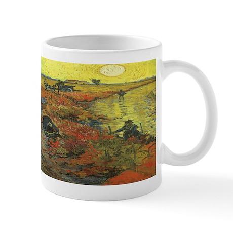 Van Gogh The Red Vineyard Mug