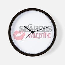 V-Day Kiss (Seabee) Wall Clock