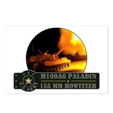 M109 Paladin Howitzer Postcards (Package of 8)