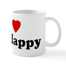 I Love Mr. Happy Mug