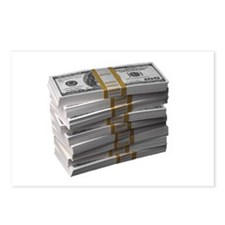My Stack of Money Postcards (Package of 8)