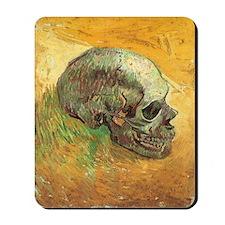 Van Gogh Skull Still Life Mousepad