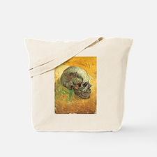 Van Gogh Skull Still Life Tote Bag