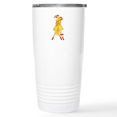Rubber Chicken Tango Stainless Steel Travel Mug
