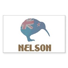 Nelson New Zealand Rectangle Decal