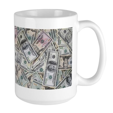 My Money Wall Large Mug