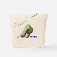 Focus on Money Tote Bag