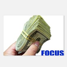 Focus on Money Postcards (Package of 8)