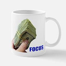 Focus on Money Mug