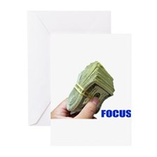 Focus on Money Greeting Cards (Pk of 10)