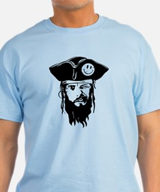 Captain Smiley the Pirate Mens T-Shirt