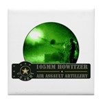 Towed Howitzer Tile Coaster