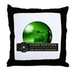 Towed Howitzer Throw Pillow