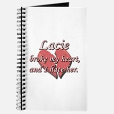 Lacie broke my heart and I hate her Journal