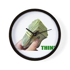 Think Money Wall Clock