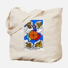 Funny Wheel of fortune Tote Bag