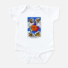 Cute Wheel of fortune Infant Bodysuit