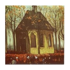 Van Gogh Chapel at Nuenen Tile Coaster