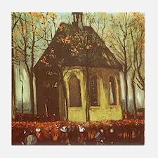 Van Gogh Chapel at Nuenen Tile Coaster