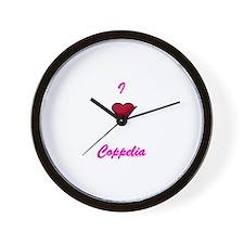 Heart Coppelia Wall Clock