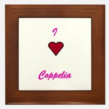 Heart Coppelia Framed Tile