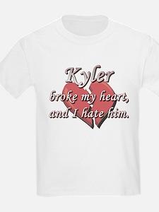 Kyler broke my heart and I hate him T-Shirt