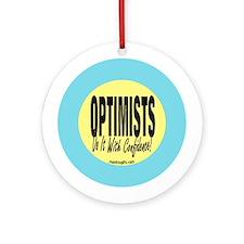 Optimists Ornament (Round)