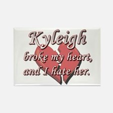 Kyleigh broke my heart and I hate her Rectangle Ma