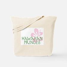 Hawaiian Princess tote bag