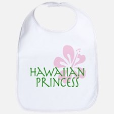Hawaiian Princess bib