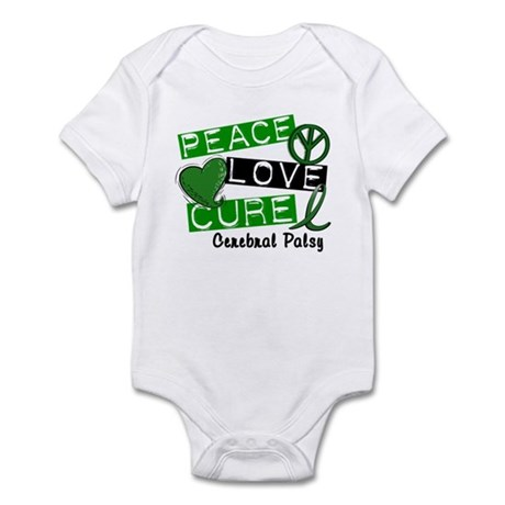 PEACE LOVE CURE Cerebral Palsy (L1) Infant Bodysui