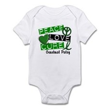 PEACE LOVE CURE Cerebral Palsy (L1) Infant Bodysui