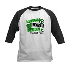 PEACE LOVE CURE Cerebral Palsy (L1) Tee