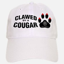 Clawed By A Cougar -- Baseball Baseball Cap