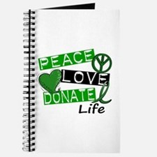 PEACE LOVE DONATE LIFE (L1) Journal