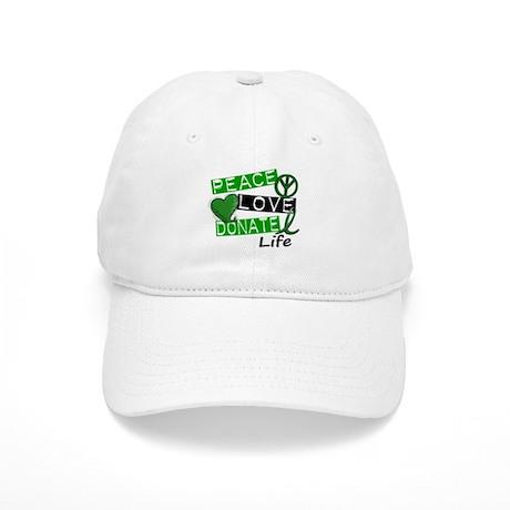 PEACE LOVE DONATE LIFE (L1) Cap
