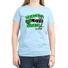 PEACE LOVE DONATE LIFE (L1) T-Shirt