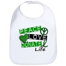PEACE LOVE DONATE LIFE (L1) Bib