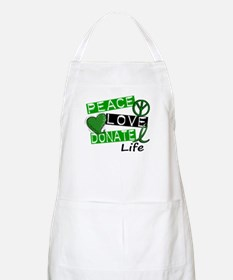 PEACE LOVE DONATE LIFE (L1) BBQ Apron