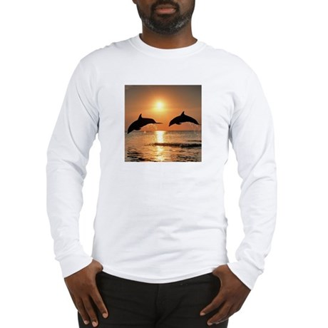 Two Dolphins Long Sleeve T-Shirt