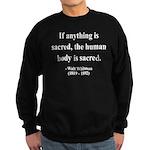 Walter Whitman 15 Sweatshirt (dark)