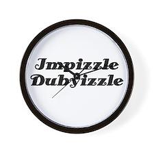Impizzle Dubyizzle Wall Clock
