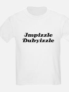 Impizzle Dubyizzle Kids T-Shirt