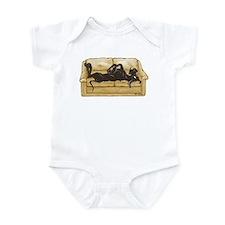NBlk Couch Belly Infant Bodysuit